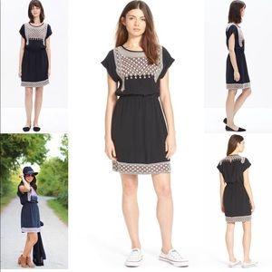 Madewell Starflower Silk dress